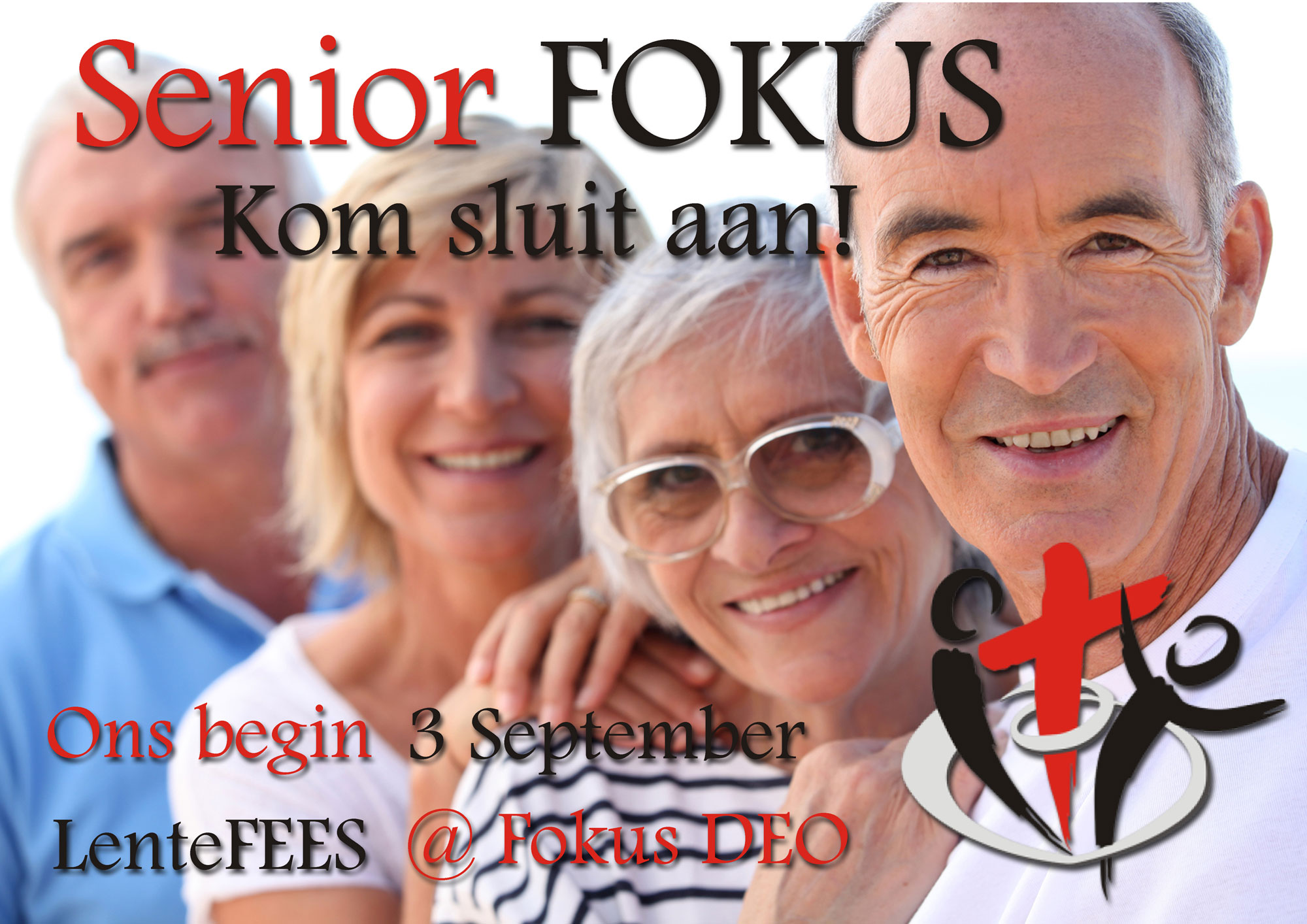 Senior-FOKUS begin Saterdag 3 September met 'n Lentefees.