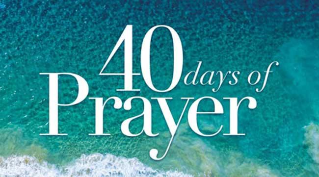 40 Dae van Gebed – kom leer bid!